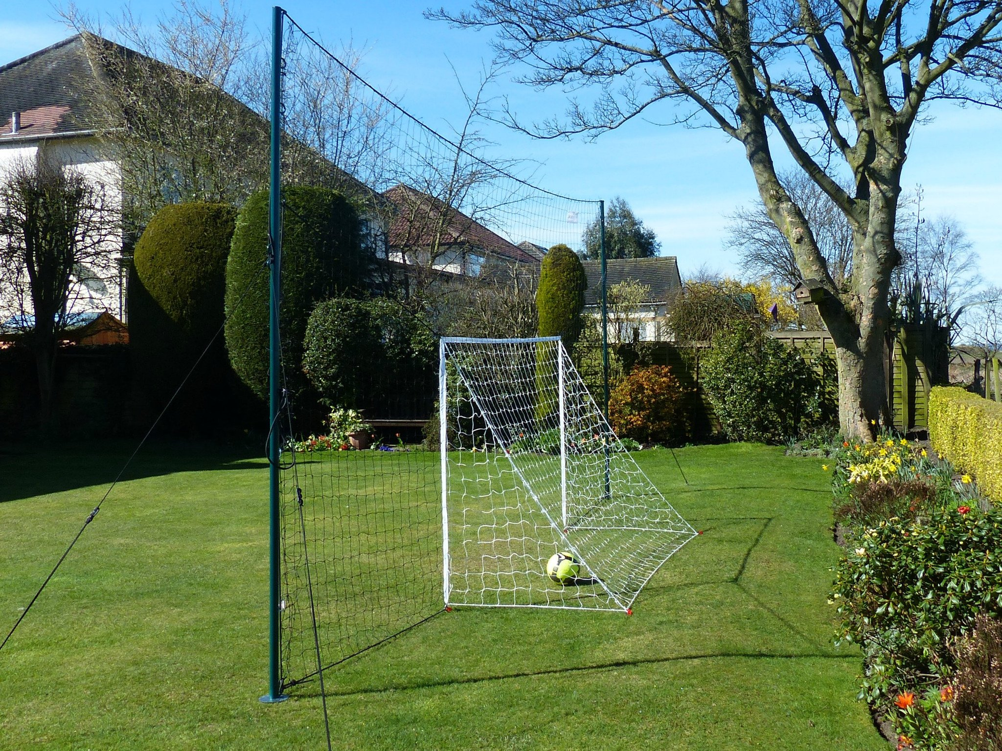 ae5be8a5326 Open Goaaal Soccer Goal + Rebounder + Backstop ALL IN ONE ...